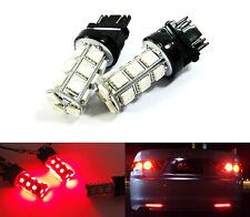 2x RED 18 SMD LED 7443 7440 for MAZDA Tail Light Bulb 2 3 6 Miata RX-8 CX-7 MX-5