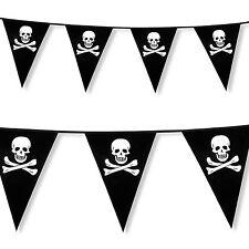 6m Classic Pirata Teschio Ossa Incrociate Partito Pennant Flag Banner Bandierine Decorazione