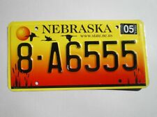 AUTHENTIC 2004 NEBRASKA LICENSE PLATE