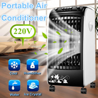 220V Portable Air Conditioner Conditioning Fan Humidifier Home Cooler Ventilator