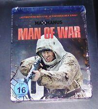 MAX MANUS MAN OF WAR STEELBOOK EDITION BLU RAY SCHNELLER VERSAND NEU & OVP