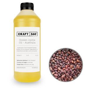 AUSTRALIAN JOJOBA OIL Cold Pressed Carrier Base Cosmetic Grade 100% Natural