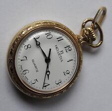 Vintage Helvetia Medallion Quartz Five Jewels Swis Made Watch
