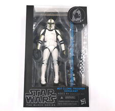 #07 Clone Trooper Sergeant Hasbro Limited Star Wars The Black Series Limited