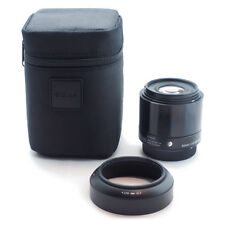 SIGMA Single Focus Standard Lens Art 60mm F2.8 DN Black for Micro Four Thirds