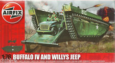 Airfix A02302 1 76 Buffalo IV & Willys Jeep