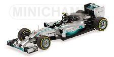 Mercedes Amg W05 Nico Rosberg Abu Dhabi Gp 2014 1:43 Model 410140406 MINICHAMPS