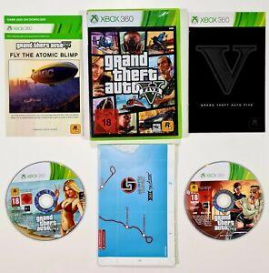 Rockstar XBOX 360 Spiel GTA GRAND THEFT AUTO V dt. Los Santos/Gangster/Shooter