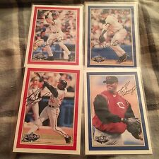 2001 Oreo / Ritz Baseball All Star Game Set (4) Derek Jeter Ken Griffey Jr