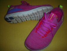 Skechers Turn Knit, Memory Foam, Faux Lace, Slip-On Sneakers Women's 6.5 M Pink-