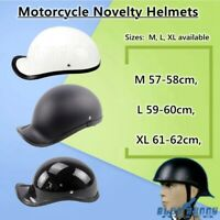 ABS Motorcycle Helmets Baseball Cap Style Cruiser Classic Half Face Helmet Cap