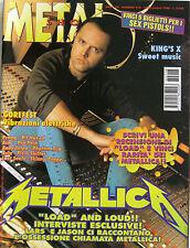 METAL SHOCK 218 1996 Metallica Gorefest King's X Pitch Shifter Pro-Pain Anekdote