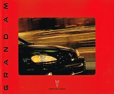 Big 2002 Pontiac GRAND AM Catalog / Brochure with Color Chart:SE,SE1,GT,GT1,SC/T