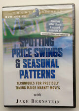 SPOTTING PRICE SWINGS & SEASONAL PATTERNS by Jake Bernstein *Stock Trading DVD*