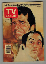 TV GUIDE Canada JAMES GARNER  Vol 1 #35 - August 27 1977 - Issue No. 35