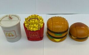 1990 McDonalds Happy Meal Toys Changeables 'Transformers' FULL SET of 4