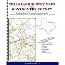 Genealogy Family Maps Cemetery Montgomery County Texas TX Land Survey