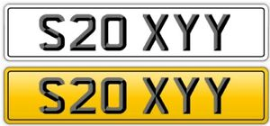 SEXY STYLE SEXY PRIVATE NUMBER PLATE MR-SEXY, SOO SEXY MISS SEXY - REG S20 XYY