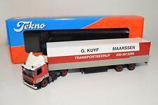 A5 76 1:50 TEKNO DAF 75 G. KUYF MAARSSEN TRUCK WITH TRAILER MIB