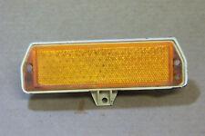 1971 & Other Mustang LH Front Fender Side Marker Lens Bezel Or Trim W/Nuts OEM