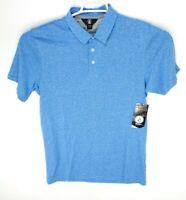 NEW Volcom Mens Wowzer Polo Shirt Short Sleeve Blue A0111700 Size M