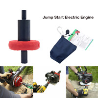 MowerJump Start Electric Engine Drill Bit Adapter For Troy-Bilt Plug Button