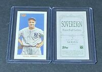 2020 TOPPS T206 SERIES 5 LOU GEHRIG SOVEREIGN BACK NEW YORK YANKEES SP