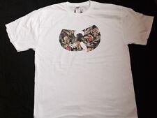 Wu-Tang Clan floral Hip-Hop/Rap T-Shirt (Method Man, Raekwon, Redman, ODB, XL