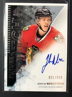 2013-14 SP Authentic Future Watch Rookie Joakim Nordstrom Auto /999