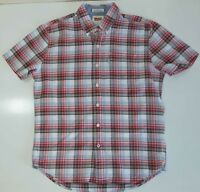 MENS Levi's SHIRT SHORT SLEEVE COTTON  SIZE M VGC