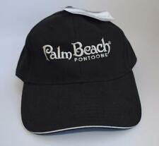 """NWT """"Palm Beach PONTOONS"""" One Size Fits All Adjustable Baseball Cap Hat"""