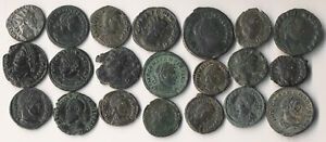 ^^SO NICE^^ 21 ANCIENT ROMAN COINS  (HAND PICKED FOR EYE APPEAL) > NO RESERVE
