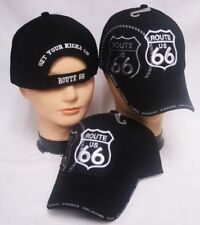 Route 66 Get Your Kicks Shadow States on Bill Black Embroidered Cap Hat CAP981