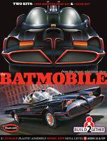 Polar Lights 907 Batman 1966 TV Series Batmobile 2 Kit Set (Snap and Glue) 1/25