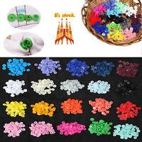 Snaps Plástico T5 Botones Redondos Colores sin snap Alicate (300x 20 Colores)