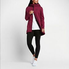 Nike Sportswear Tech Fleece Women's Hoodies Noble Red/Heather/Noble Red/Black