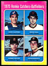 1975 TOPPS BASEBALL #620 GARY CARTER DANNY MEYER ROOKIE RC EX-NM MONTREAL EXPOS