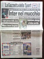 GAZZETTA DELLO SPORT 13 settembre 1999.PALLAVOLO ITALIA VINCE EUROPEI ITALVOLLEY