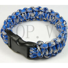 Paracord 550 Bracelets Buckle Camping Emergency Survival Gear Tool Camping #3