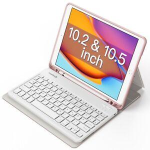 Tastatur für 10.2 Zoll iPad 8 2020/iPad 7 2019, 10.5 Zoll iPad Air 3, iPad Pro