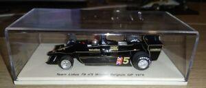 F1 1/43 LOTUS 79 ANDRETTI BELGIUM GP 1978 SPARK S1848