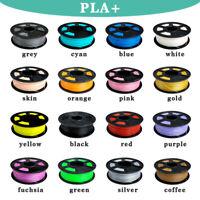 SUNLU PLA+ 3D Printer Filament 1.75mm 1KG/2.2lb Spool Black PLA PLUS Printing