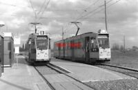 PHOTO  NETHERLANDS TRAM 1986 RET WOUDHOEK TRAM NO 745 AND 701 ON ROUTE 1 ROTTERD