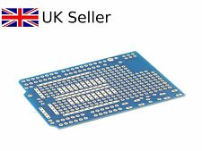 Prototyping Shield PCB Board Blue For Arduino Uno/Mega DIY part UK SELLER