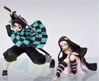 Demon Slayer Kimetsu no Yaiba Kamado Nezuko&Tanjirou Figura de acción PVC