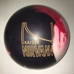 NEW 15# BRUNSWICK KAISER NIRVANA REACTIVE RESIN BOWLING BALL! 2ND! FREE SHIP!
