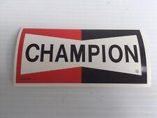 Vtg Champion Spark Plug Decal Sticker Car Racing Nascar NHRA Buy 2 Get 1 Free!