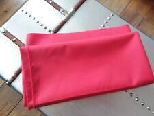 Farrari red fabric remnant suitable upholstery  craft project 55 x 45 inches