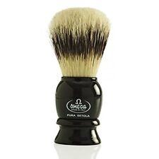 Omega Shaving Brush #13522 Pure Bristles Black