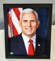 Mike Pence Signed Autographed Photo with COA - Vice President  - Framed